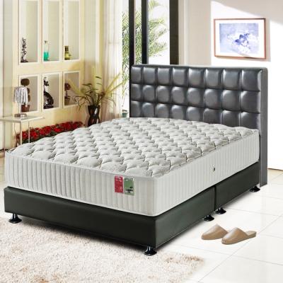 睡尚寶 飯店用浪漫美學蜂巢獨立筒床組-雙人5尺