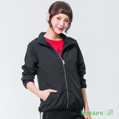 bossini女裝-休閒風衣外套01黑