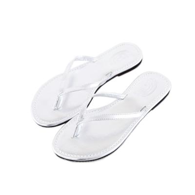 Rainbow Sandals美國金屬感夾腳休閒拖鞋-銀色