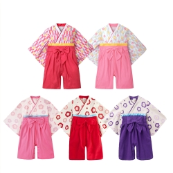 baby童衣 女童日式和服造型連身衣 37301