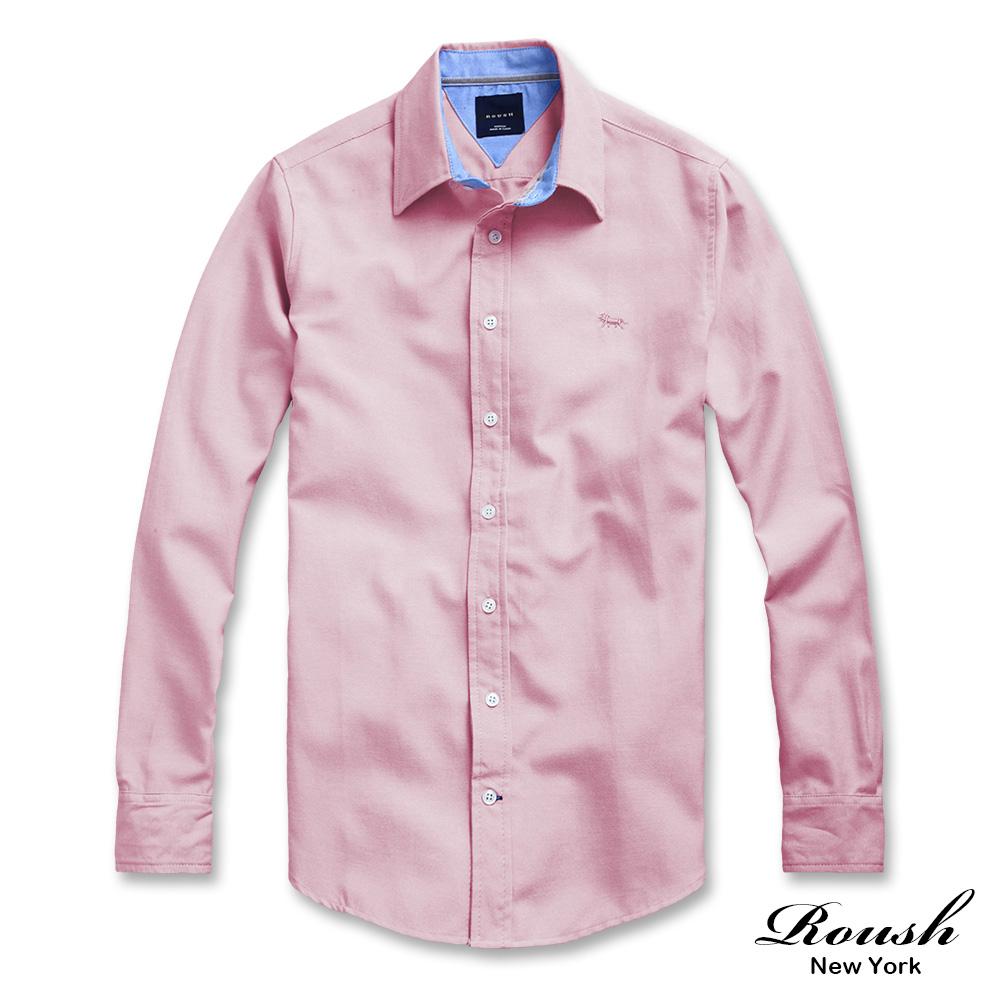 ROUSH Tommy版型配色設計高磅數牛津布素面襯衫 (4色)