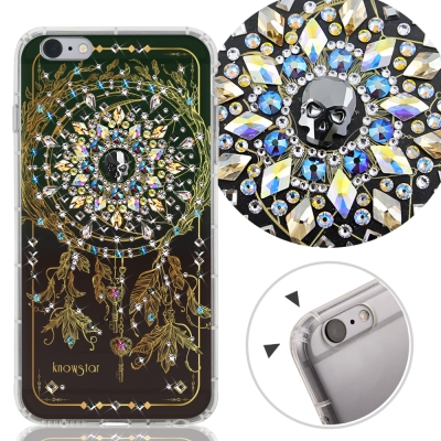 KnowStar APPLE iPhone6s Plus 奧地利水晶彩繪防摔手機鑽殼-戰神