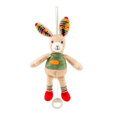 STEIFF德國金耳釦泰迪熊 - 嬰幼兒音樂鈴   Carrie Rabbit