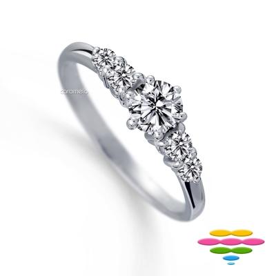 彩糖鑽工坊 19分鑽石 求婚鑽戒 愛情漫步系列