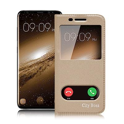 CB for Samsung Galaxy S9+ 2018 簡約生活視窗皮套
