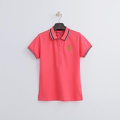 Hang Ten - 女裝 - 學院標章POLO-粉色