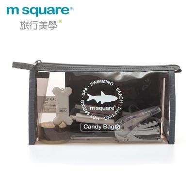 m square 親水系列PVC化妝包S