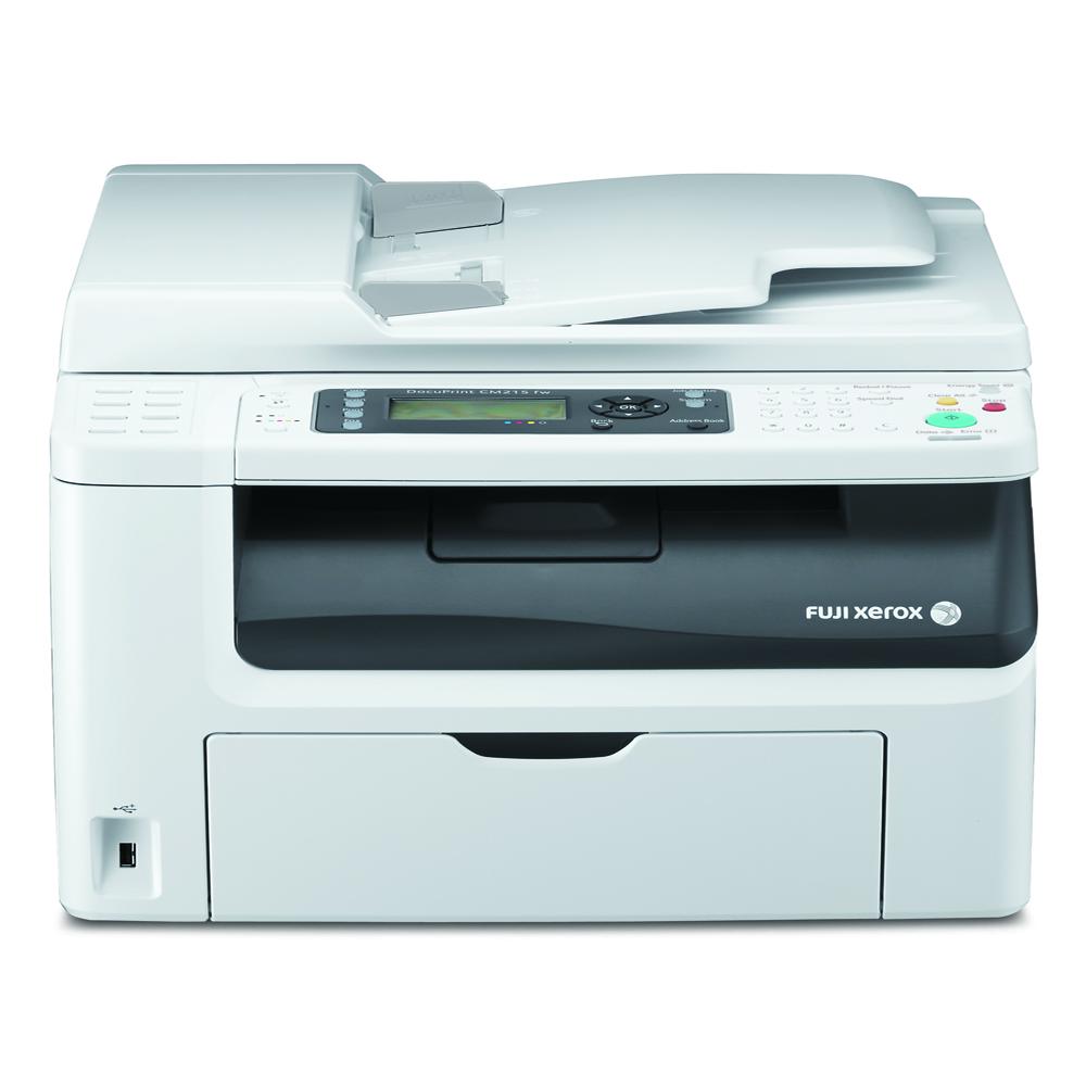 FujiXerox CM215fw A4彩色四合一無線複合印表機