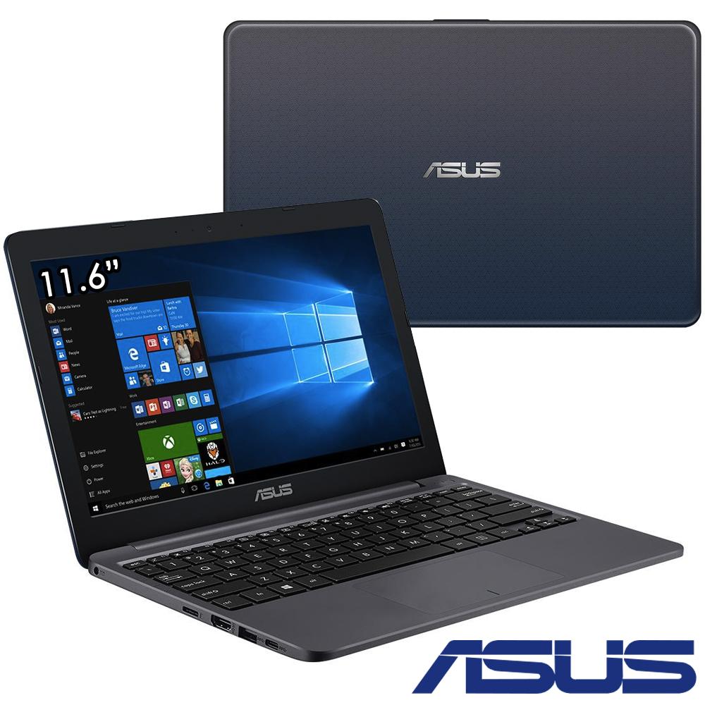 ASUS E12 E203 11.6吋筆電N3350 32G 4G星辰灰