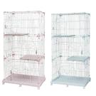 日本IRIS 質感雙層貓籠 PEC-903
