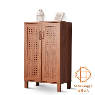 Sato - GENKA時間絮語雙門鞋櫃 W58*D35*H94cm