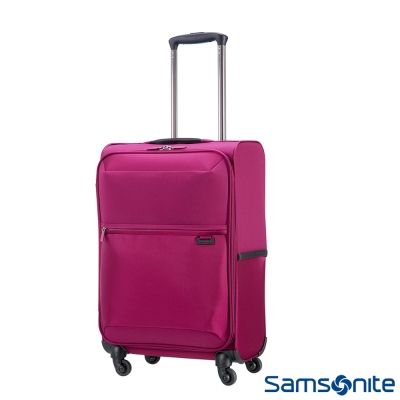 Samsonite新秀麗 20吋72H四輪TSA極輕量布面登機箱(紫紅)