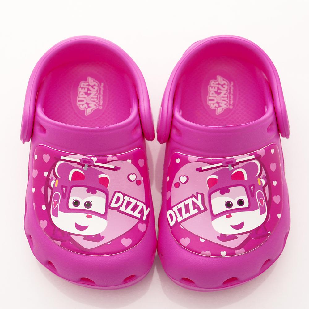 SUPER WINGS 護趾超輕量涼鞋款 SE3910桃(中小童段)