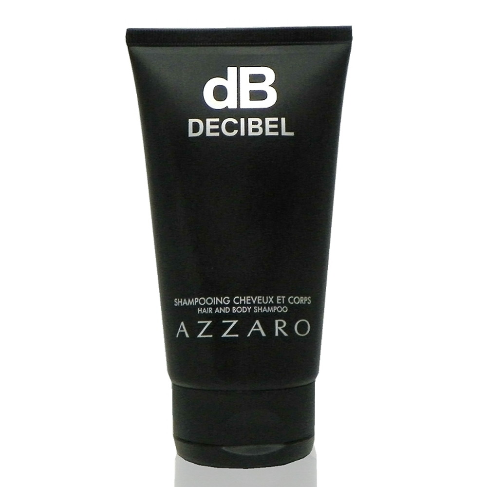 Azzaro Decibel Hair & Body Shampoo 分貝沐浴精150ml