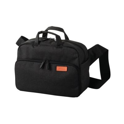 ELECOM 帆布多功能旅行側背包(L)