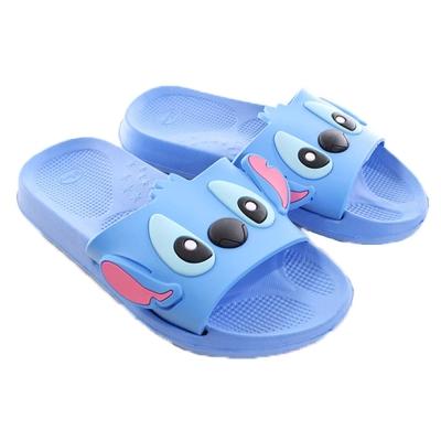 迪士尼史迪奇休閒拖鞋 藍 sh0031 魔法Baby