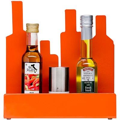 SAGAFORM 剪影瓶罐置物架(橘)