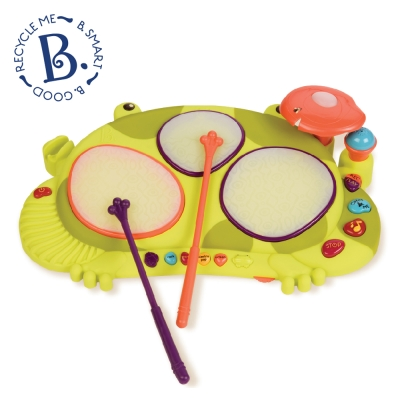 美國 B.Toys 饒舌蛙電子鼓