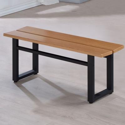 Homelike 史丹工業風長凳-108x28x43cm