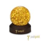 鎮金店Just Gold 擺件-片片真心金箔水晶球