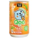Coca Qoo橘子汁(160公克)