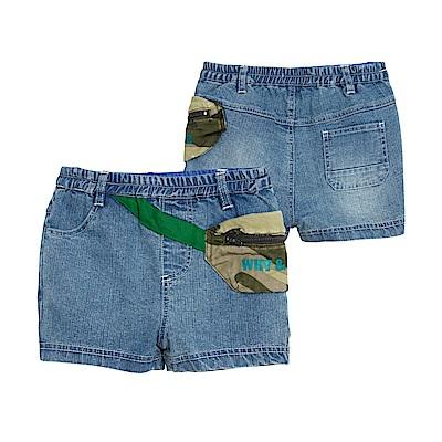 WHY AND 1/2 mini 彈性棉質牛仔短褲 1Y~4Y