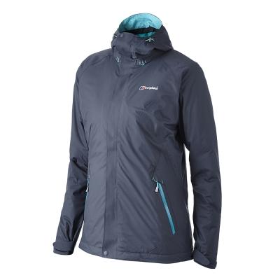 【Berghaus貝豪斯】女款AQ2保暖纖維外套H22F06-灰