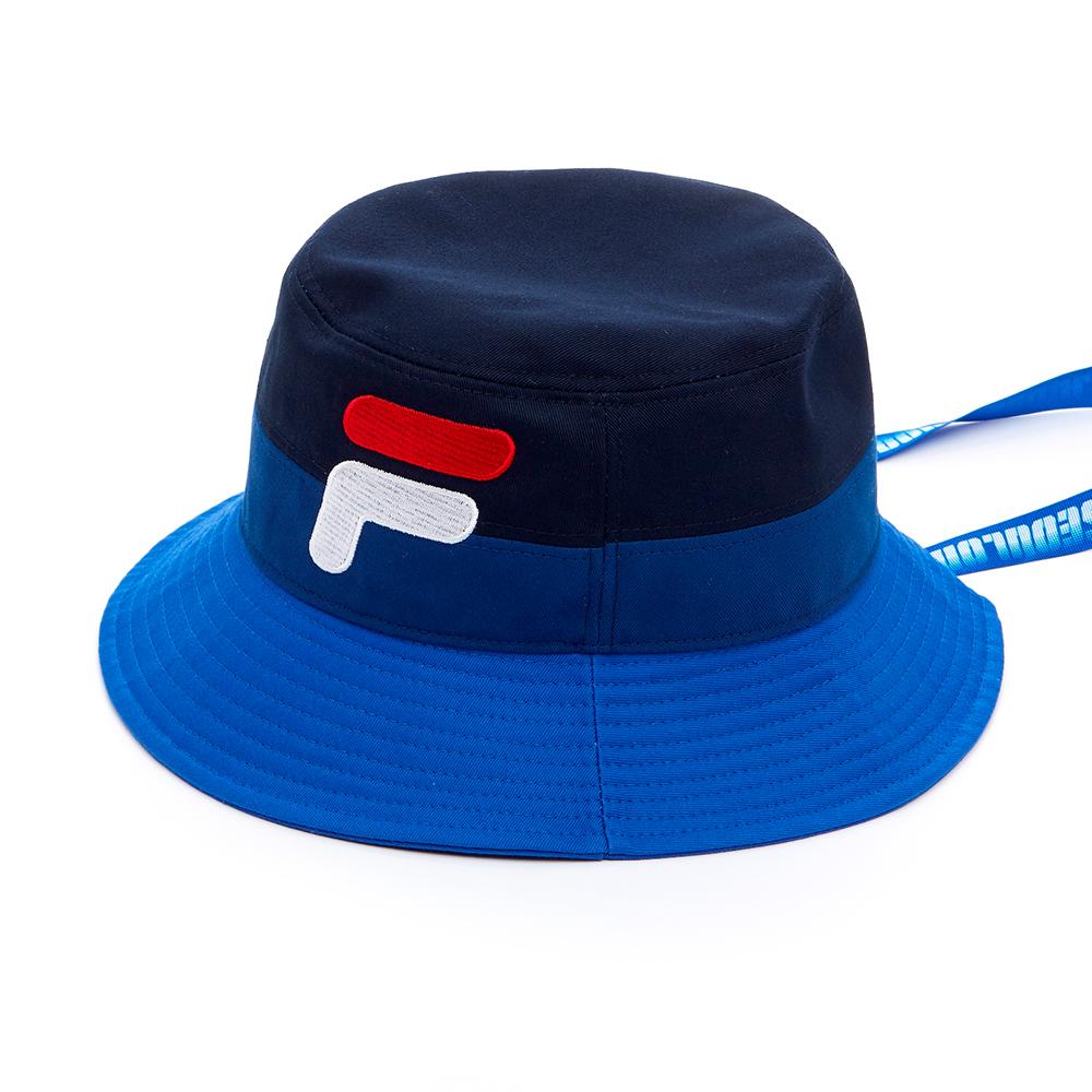 FILA  #D-ANTIDOTE聯名 筒帽-藍HTS-1852-BU
