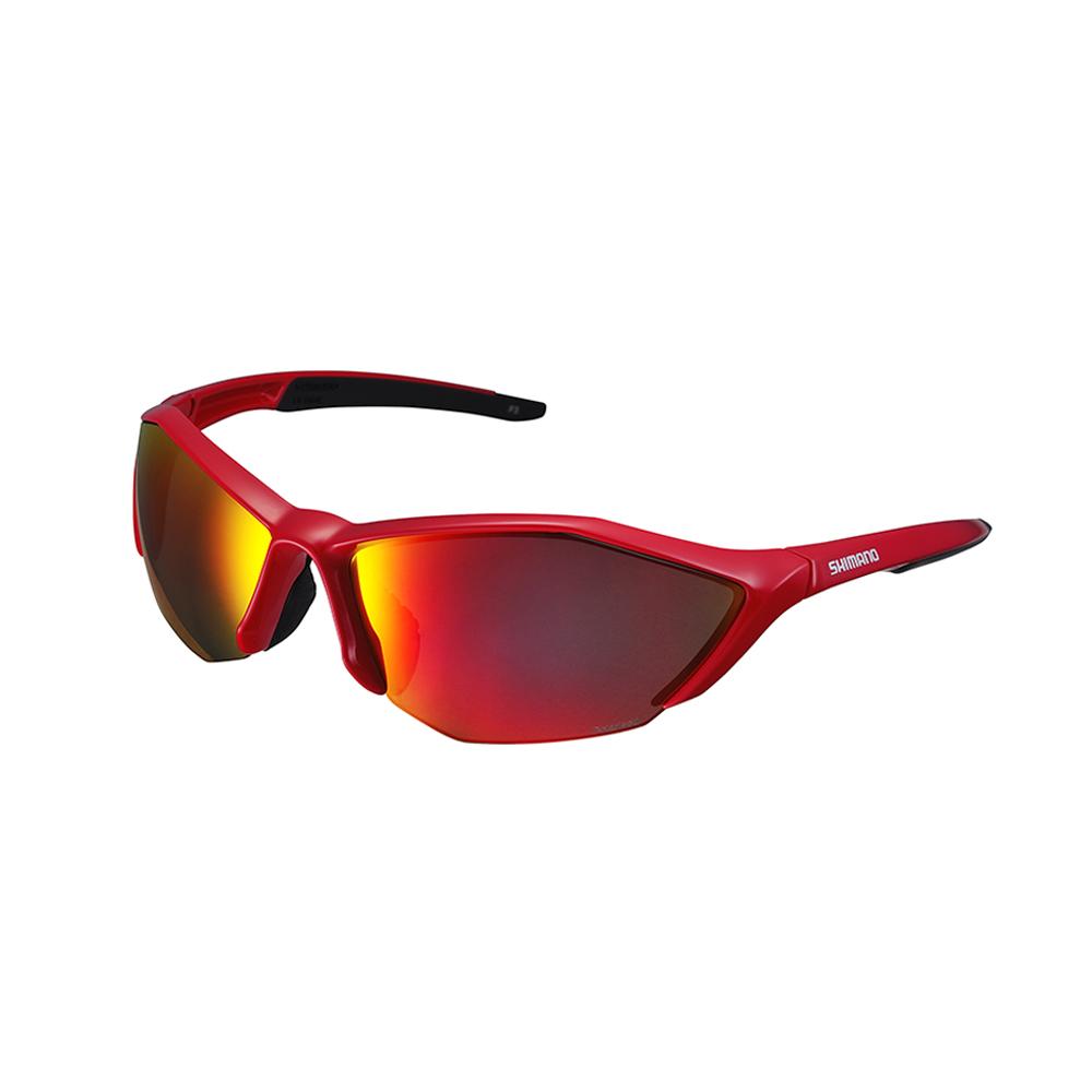 SHIMANO S61R 運動太陽眼鏡 光澤紅 / 黑