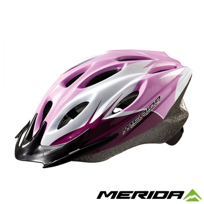 《MERIDA 》美利達CS-1700安全帽-粉/白/紫