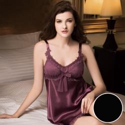 華歌爾睡衣 SEXY煽變性感系列 M-L 睡衣裙裝 (黑)