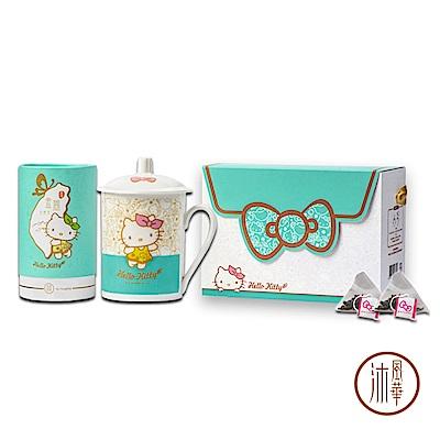 沐風華Hello Kitty 金萱烏龍茶禮盒(附緞帶提拔)