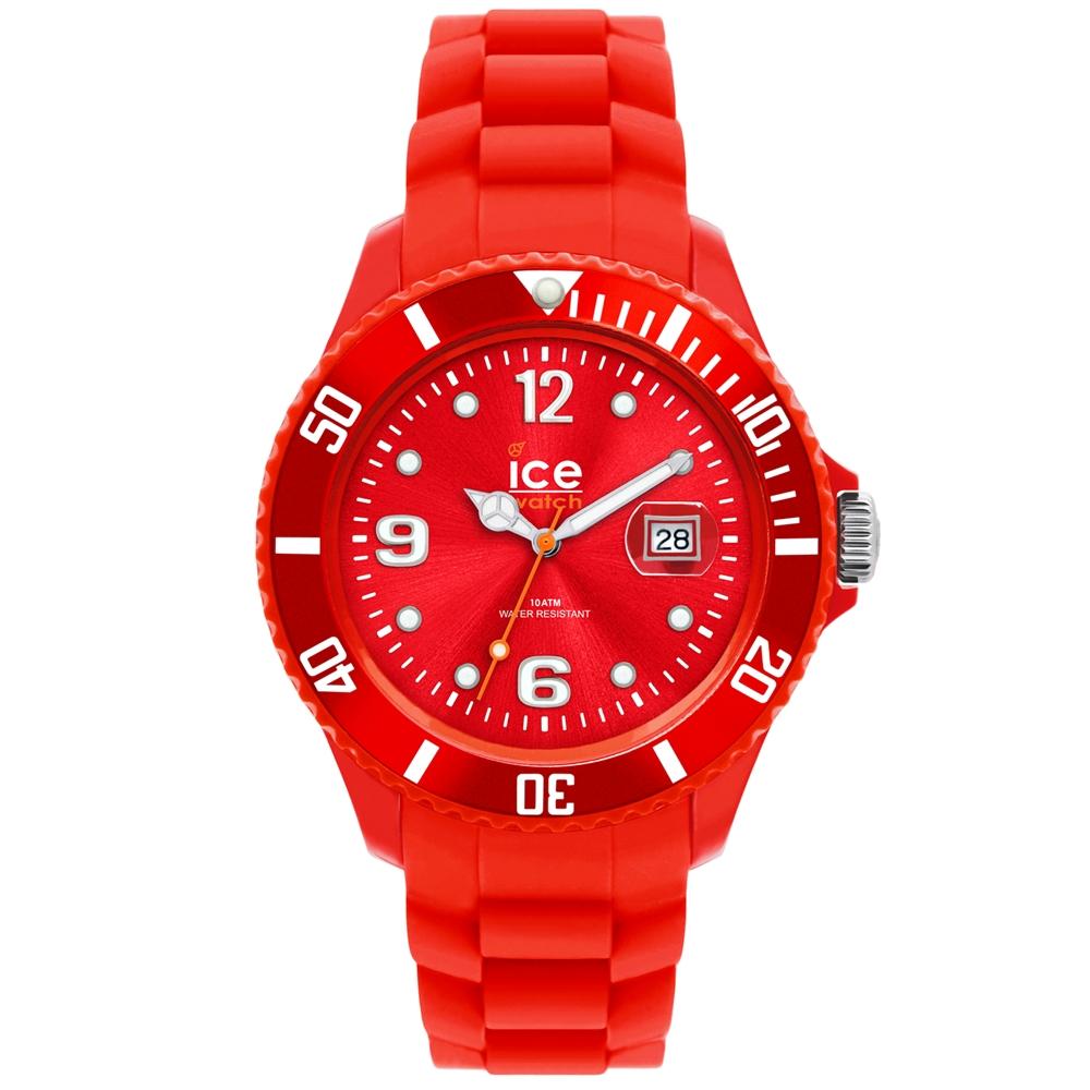 Ice-Watch 永恆系列 精工炫麗手錶-紅/43mm