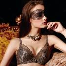 【La Felino】森林派對3/4一體成型泡棉款B-E罩杯內衣 (魅力咖)