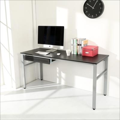 BuyJM 仿馬鞍皮低甲醛160公分單抽屜穩重型工作桌-DIY
