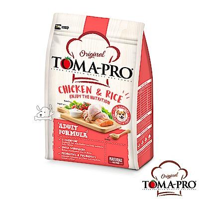 TOMA PRO 優格 高適口性 雞肉+米 成犬 飼料 1.5公斤