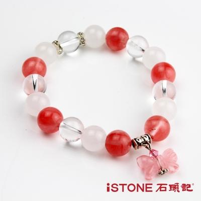石頭記 晶豔情人結愛情粉晶手鍊