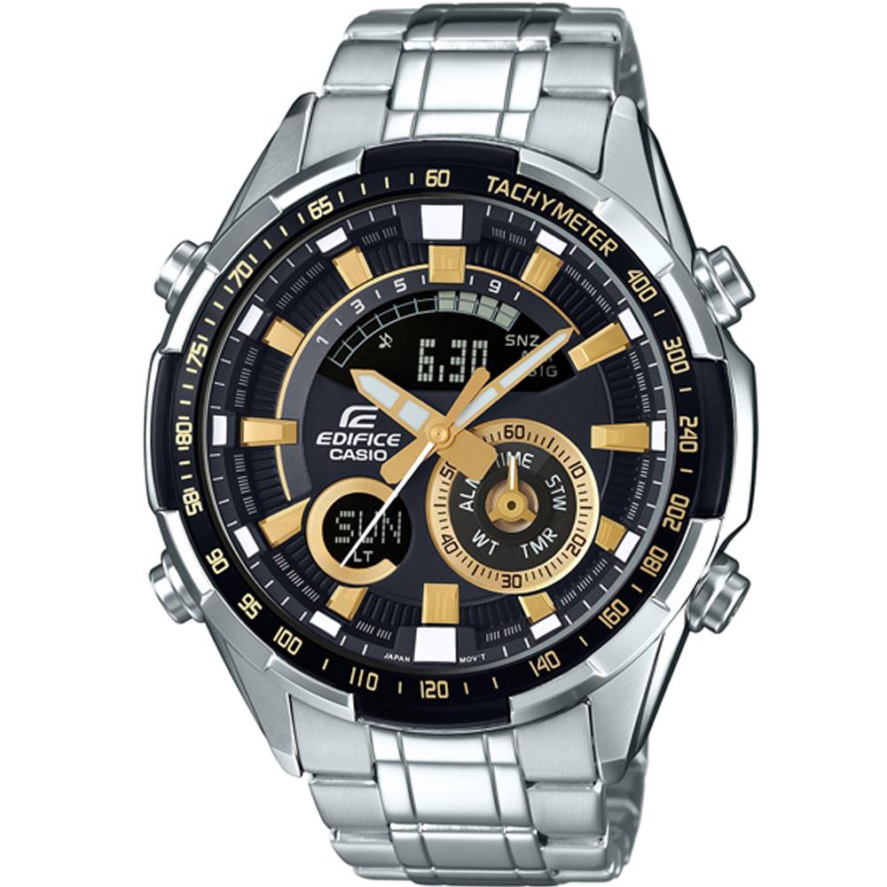 EDIFICE 多功能賽車腕錶(ERA-600D-1A9)-47mm