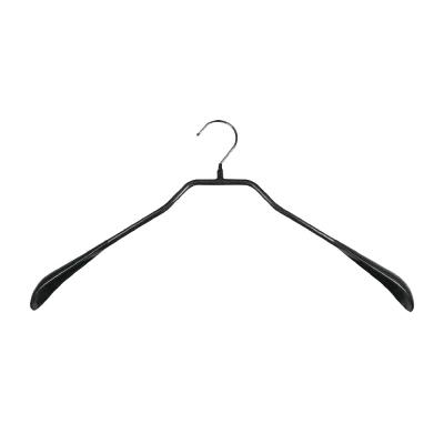 德國MAWA 時尚都會外套衣架46cm/黑色 (<b>5</b>入)
