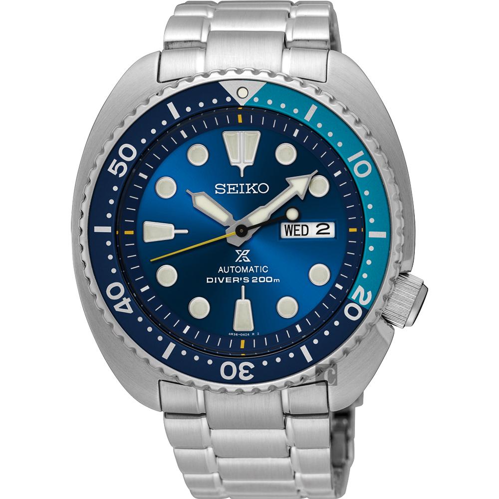 SEIKO精工 Prospex 潛水200米限量機械腕錶(SRPB11J1)-45mm