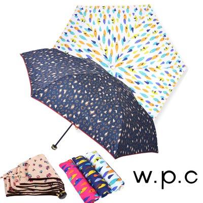 w.p.c 晴雨兩用輕量防風手開三摺傘 (多款任選)_均一價$590