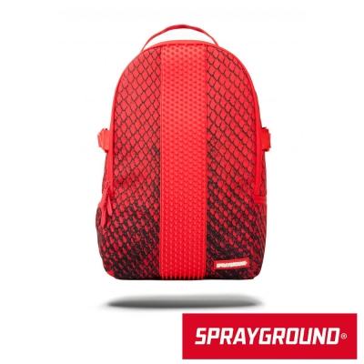 SPRAYGROUND DLX系列 Red Snake Spython 紅巨蟒潮流後背包