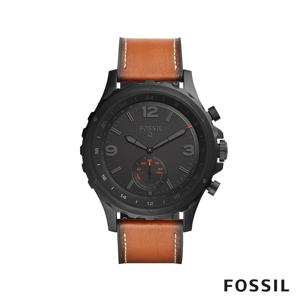FOSSIL Q NATE 粗獷有型智能錶 44mm FTW1114