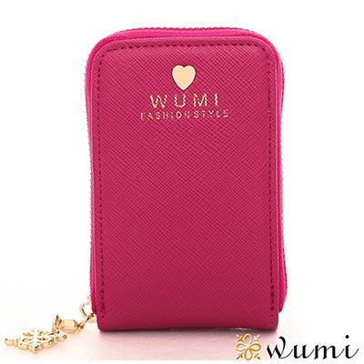 WuMi-無米-雅典娜十字紋零錢鑰匙包-共六色-快