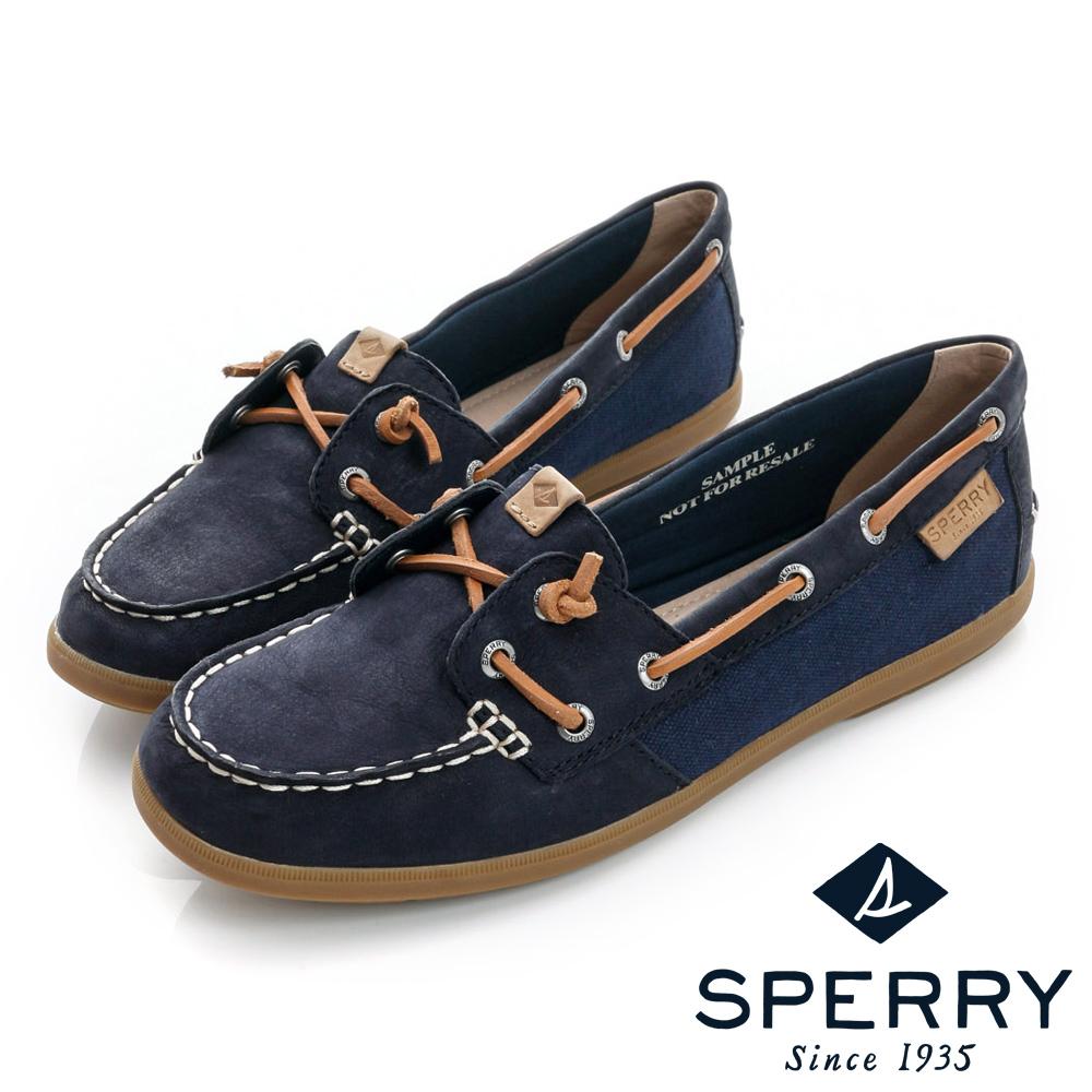 SPERRY柔軟透氣帆船鞋女-海軍藍