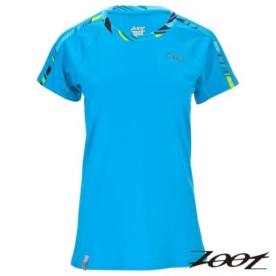 ZOOT 頂級極致型凍感運動上衣(女) Z 1604002 (沁藍)
