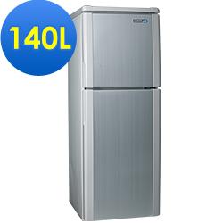 SAMPO聲寶 140L 2級定頻2門電冰箱 SR-A14Q(S6) 典雅銀