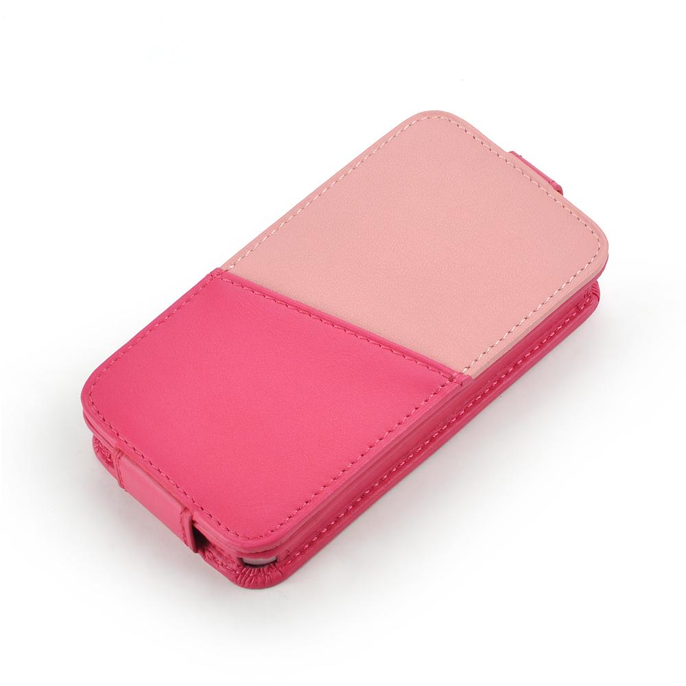 皮套王精品手工 Style-D6 PDA式下蓋拼皮夾層 客製化皮套