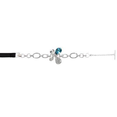 黛安芬-亮彩水晶飾品繞頸肩帶-水晶採用施華洛世奇元素
