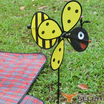韓國SELPA 繽紛飾品 蜂蜜風車